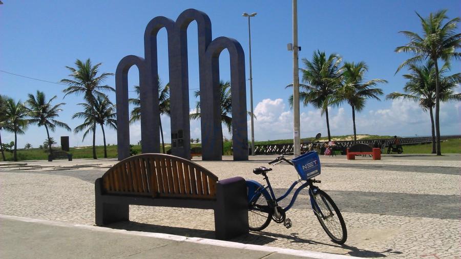 No Atalaia de Bike Caju!