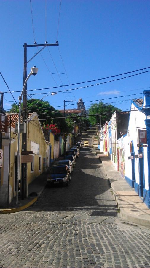 As agradáveis ruas de Olinda