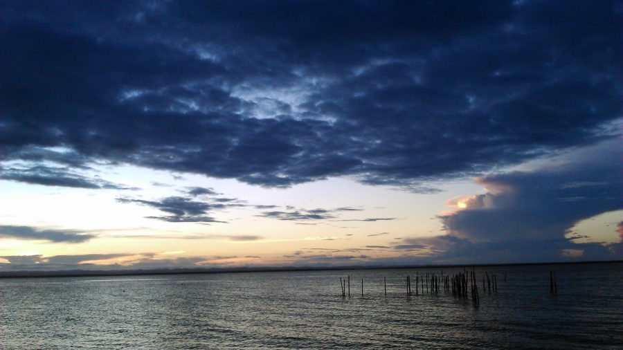 Pôr do Sol em Barra Grande - península de maraú