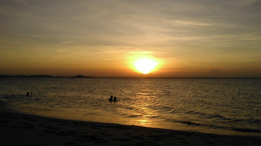 Pôr do sol Barra Grande - Maraú