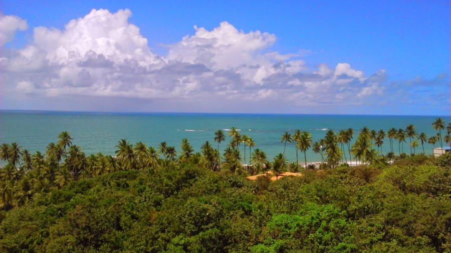 O belo mar da Paraíba!