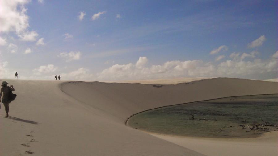 As espetaculares dunas e lagoas dos Lençóis
