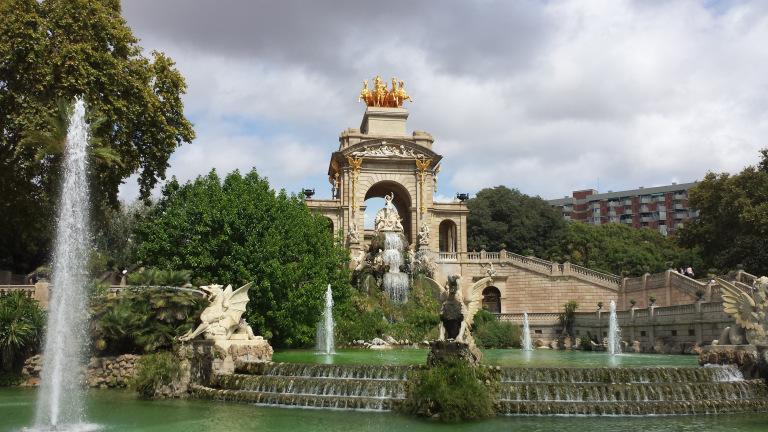 Fonte Monumental e lago - Parc de la Ciutadella