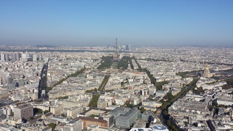 Visão Torre Montparnasse