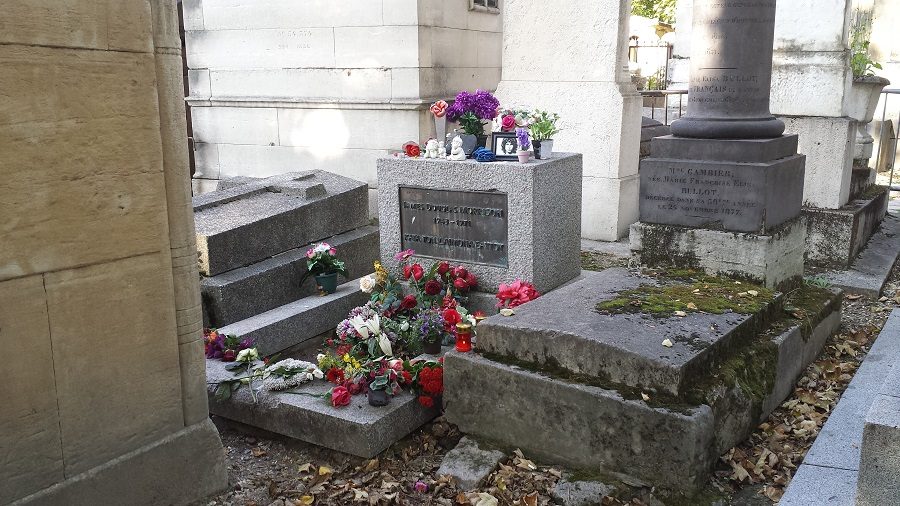 Túmulo de Jim Morrison onde transei bêbado