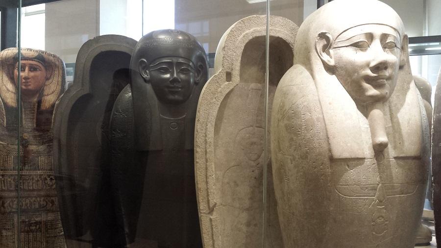 Sarcófagos egípicios!