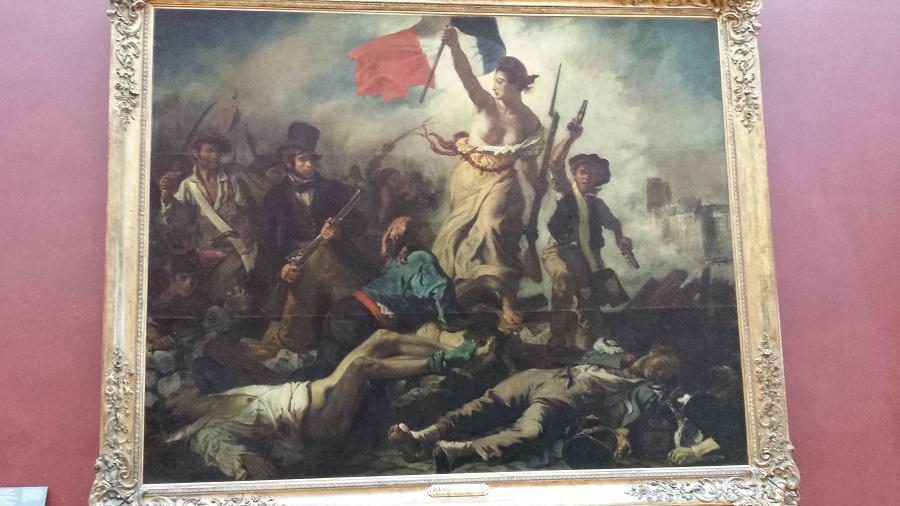 O quadro mais francês da França – A liberdade guiando o povo