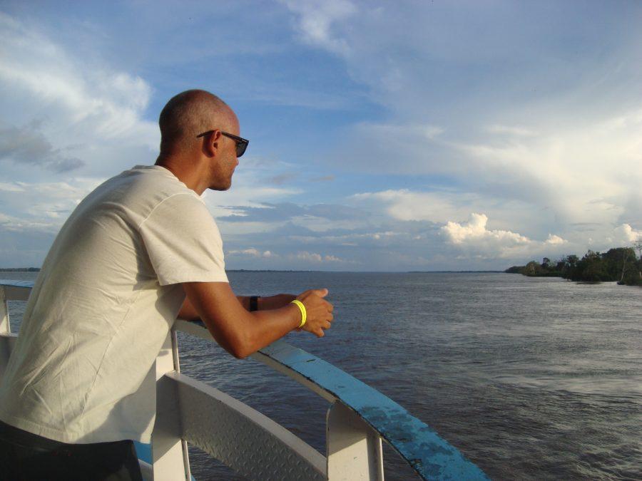No rio Amazonas