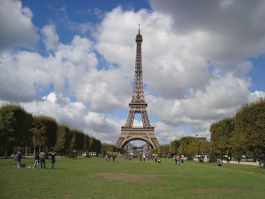 Eiffel de dia