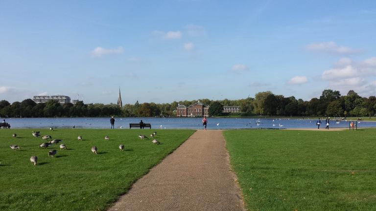 Hyde Park ou Kensington Gardens