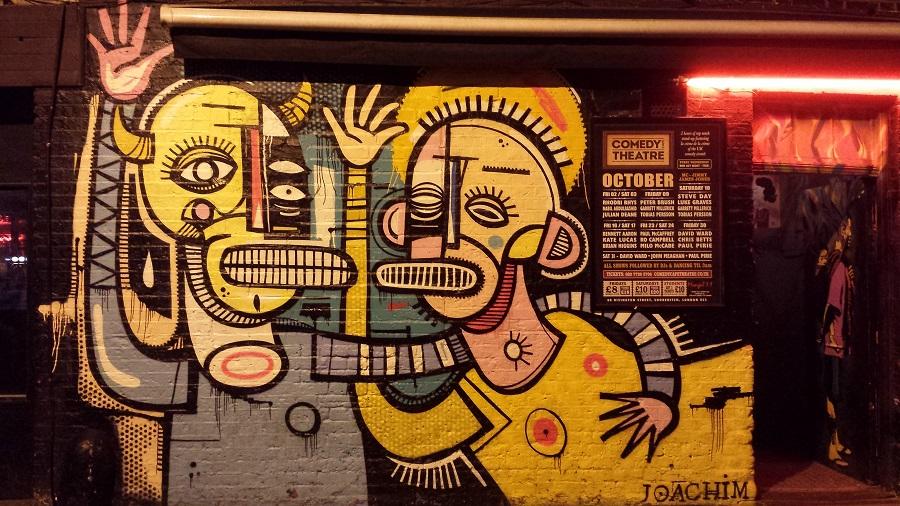 Londres também tem arte de rua, em Shoreditch