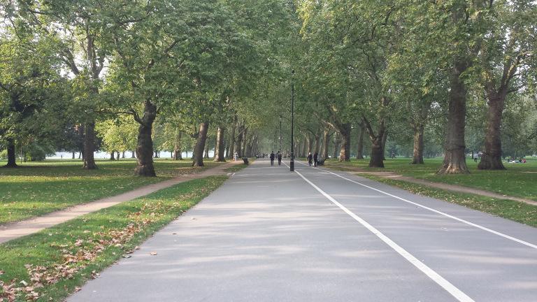 Kensington Gardens ou Hyde park