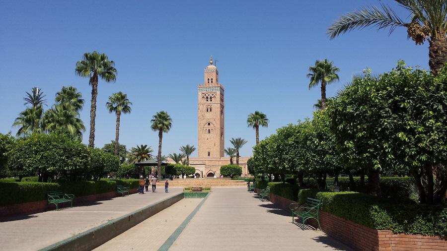 Mesquita Koutoubia, motivo de muito turismo religioso a Marrakesh