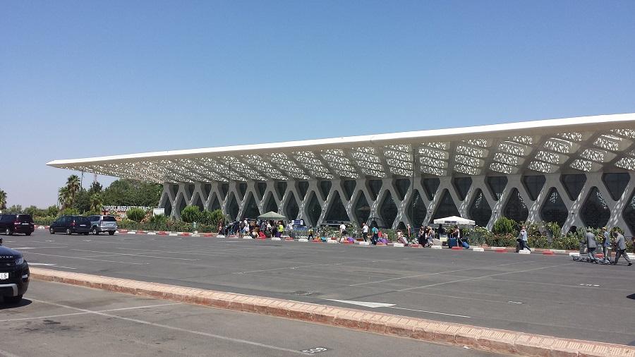 Aeroporto de Marrakesh, pagar para chegar, reze para encontrarem sua mala