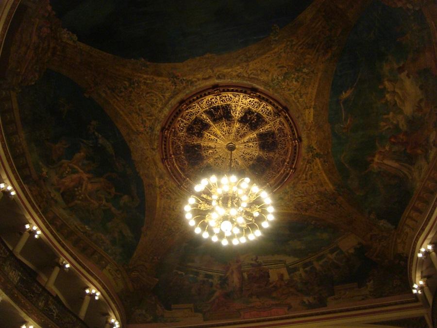Teto do teatro Amazonas