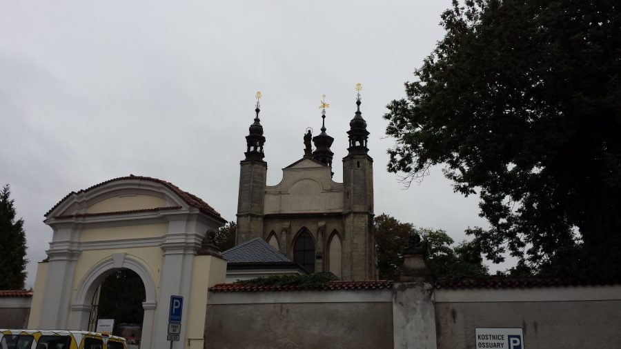O cemitério - Ossuário de Sedlec