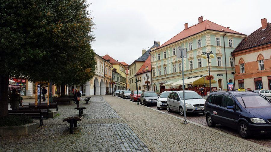 As tranquila ruas de Kutná Hora