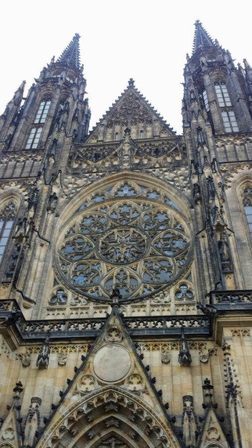 Fachada da Catedral de São Vito - Praga