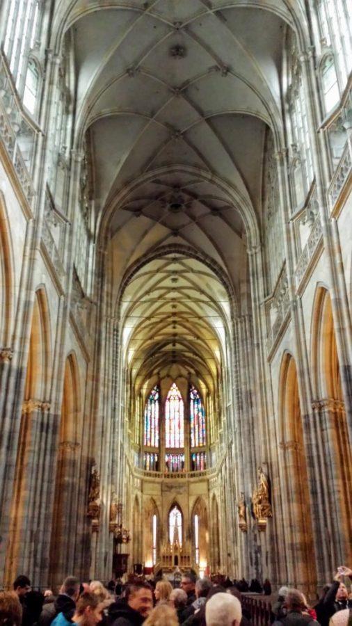 Interior Catedral de São Vito - Praga