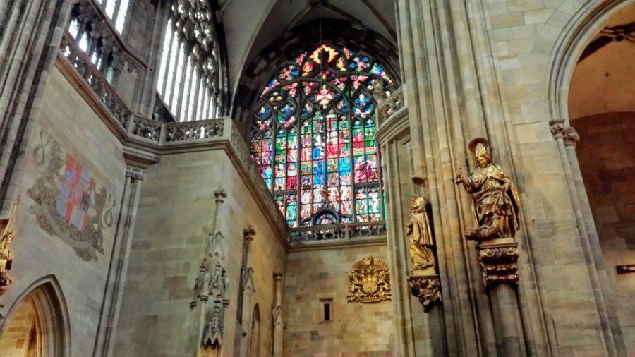 Interior da Catedral de São Vito - Praga