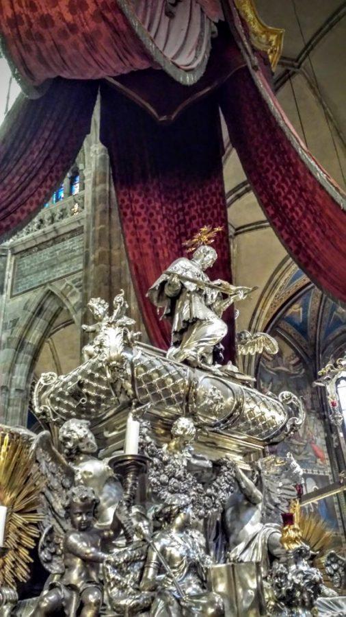 Detalhe na Catedral de São Vito - Praga