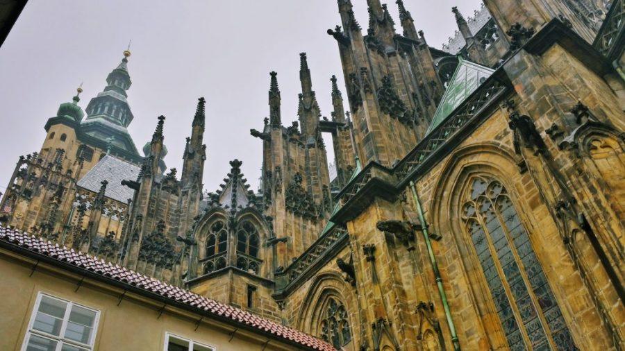 Lateral da Catedral de São Vito - Praga