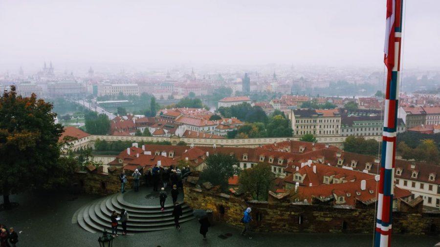 Vista de Praga a partir do Castelo