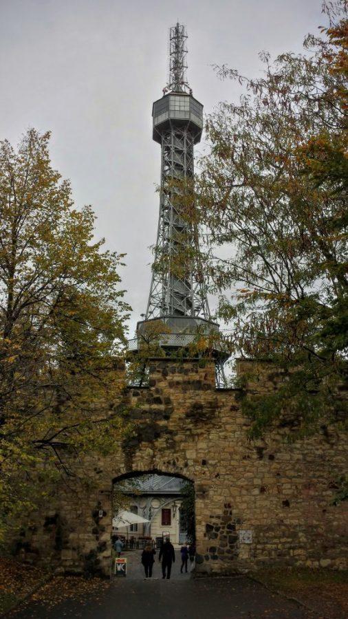 Torre no Parque Petrin - Praga