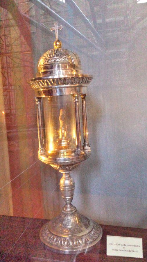 Dedo de Santa Caterina de Siena