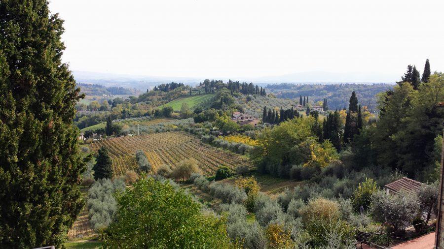 Os lindos campos da Toscana