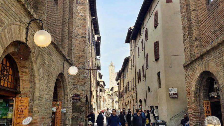 Dentro das muralhas - San Gimignano