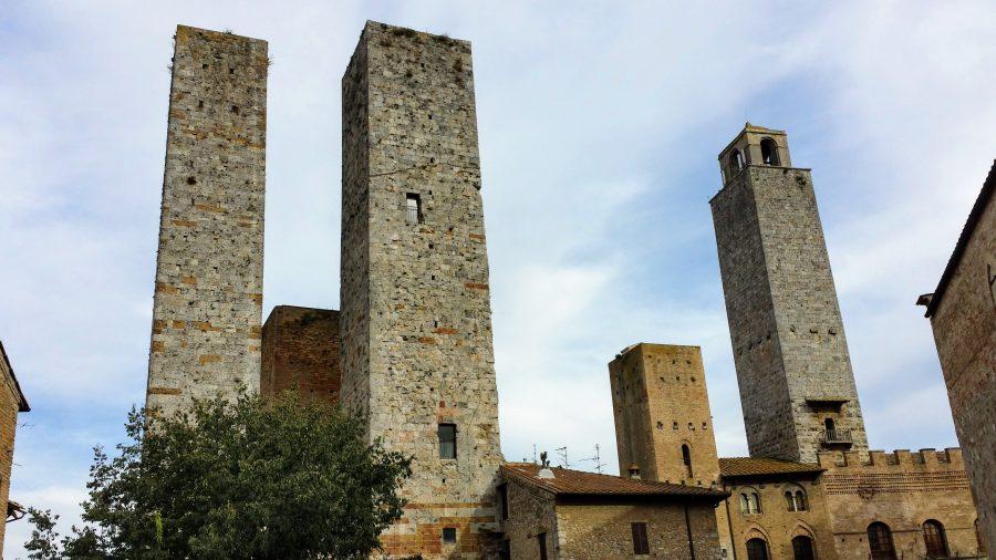 As torres de San Gimignano