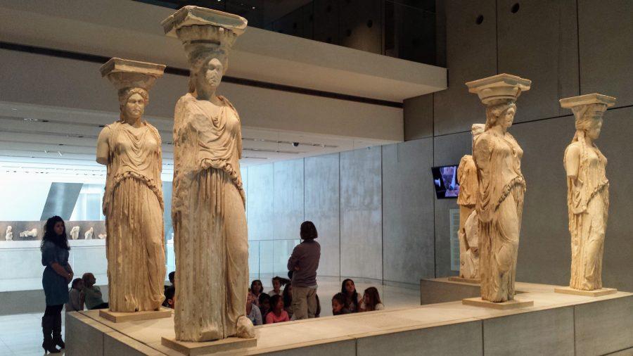 Caríatide - Museu de Atenas
