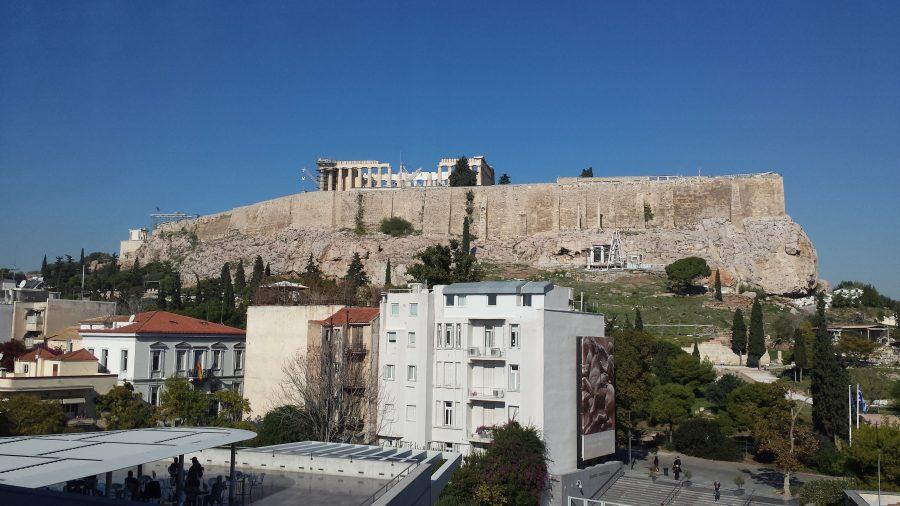 Café do museu da Acrópole
