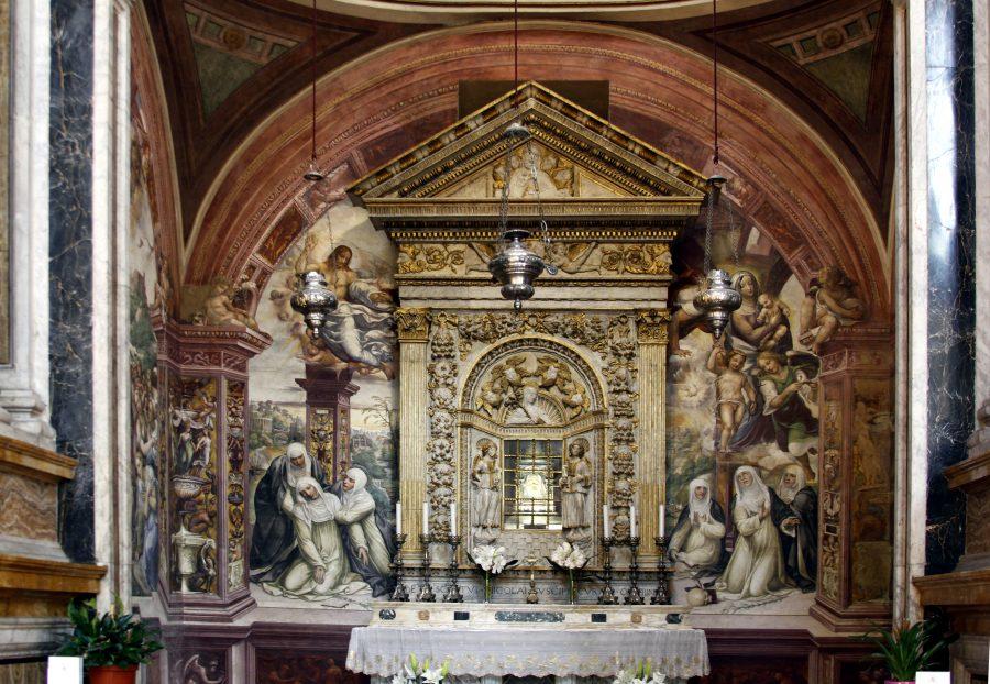 Altar da Capela de Santa Caterina de Siena