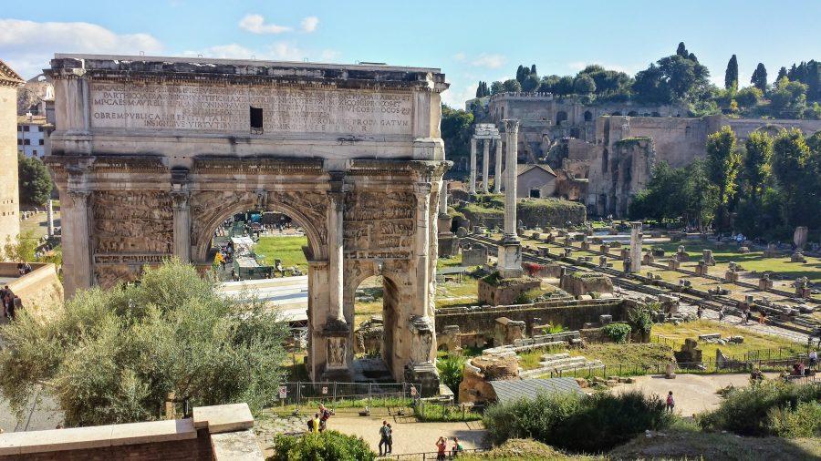 Arco de Septimio - Roma