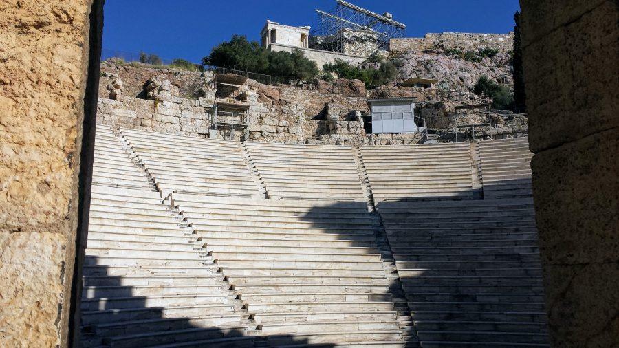 Teatro de Dionísio - Acrópole