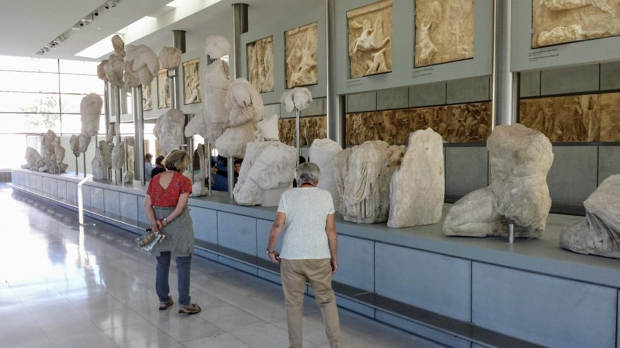 Friso Partenon - Museu da Acrópole