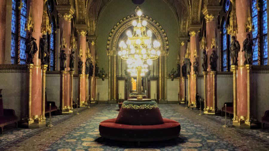 Upper House Lobby - Parlamento Húngaro - Budapeste