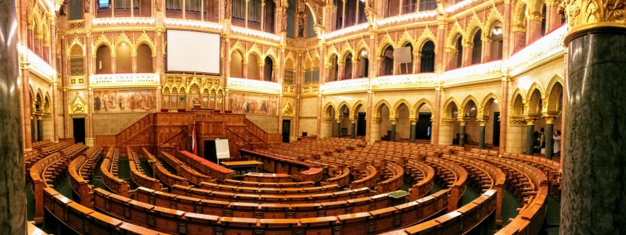 Olg Upper House Hall - Parlamento Budapeste
