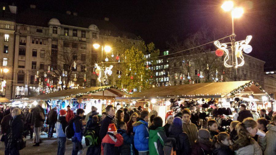 Mercado de Natal - Budapeste