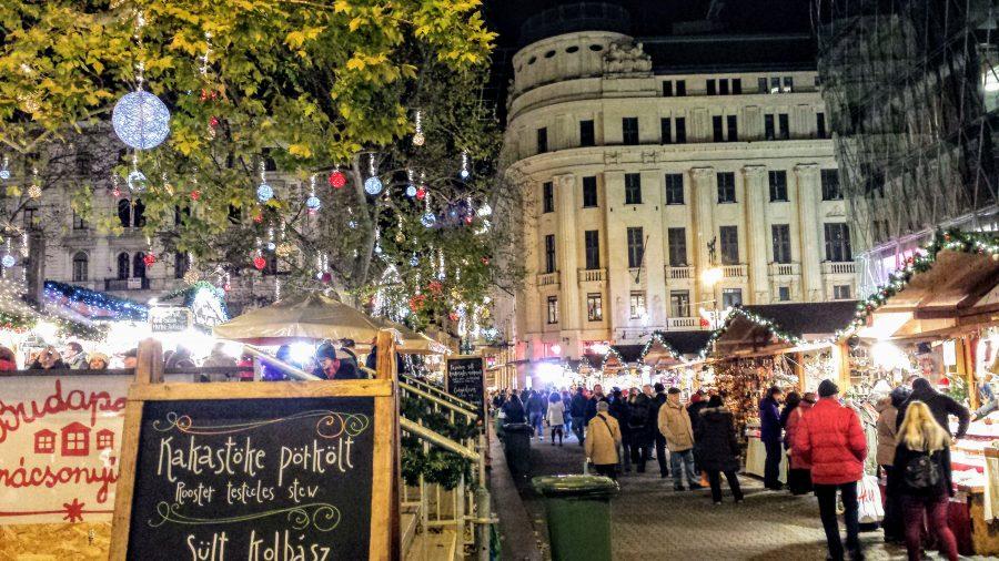 Mercado de Natal de Budapeste
