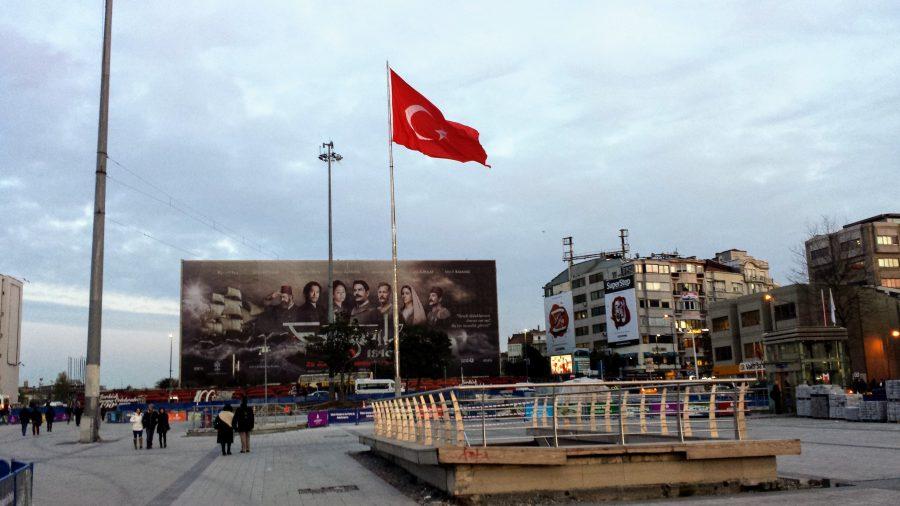 Praça Taksim - Istambul
