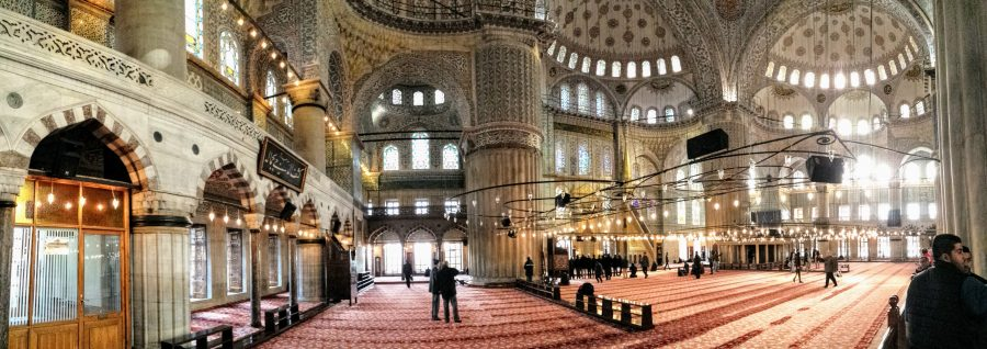 Mesquita Sultan Ahmed, Mesquita Azul - Istambul