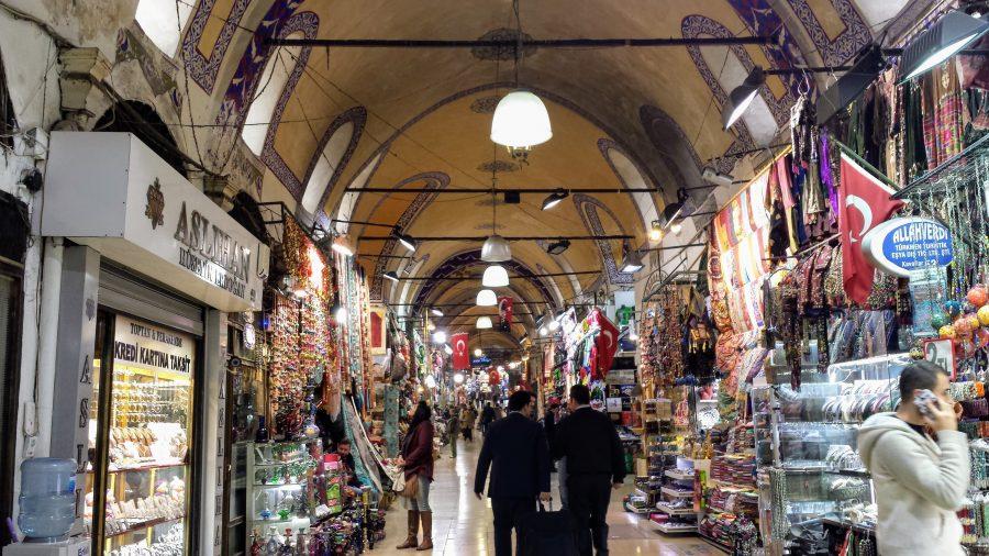 Grand Bazaar em Istambul