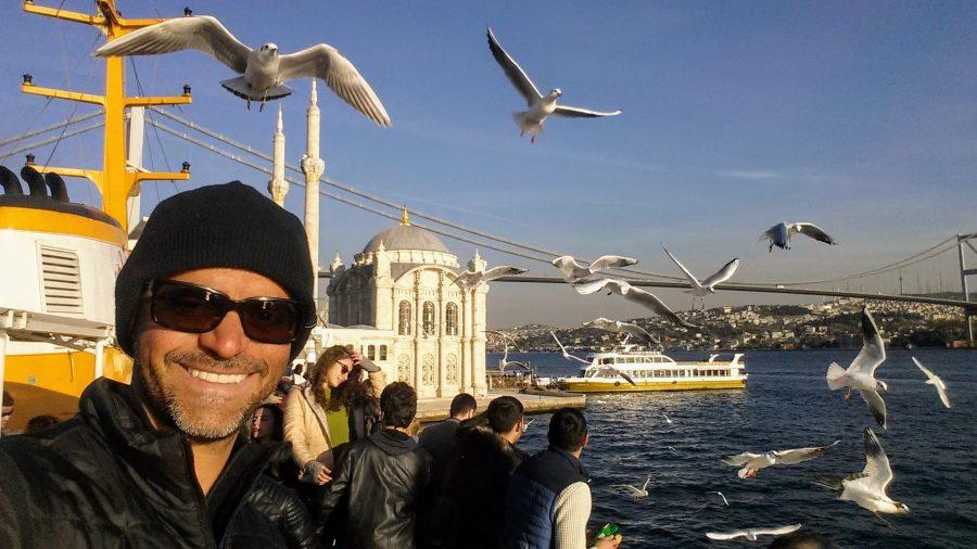 Estreito do Bósforo em Istambul