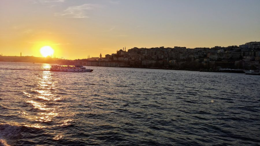 Estreito de Bósforo em Istambul