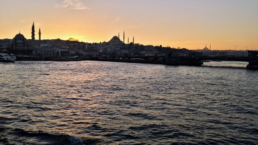 Corno de Ouro em Istambul