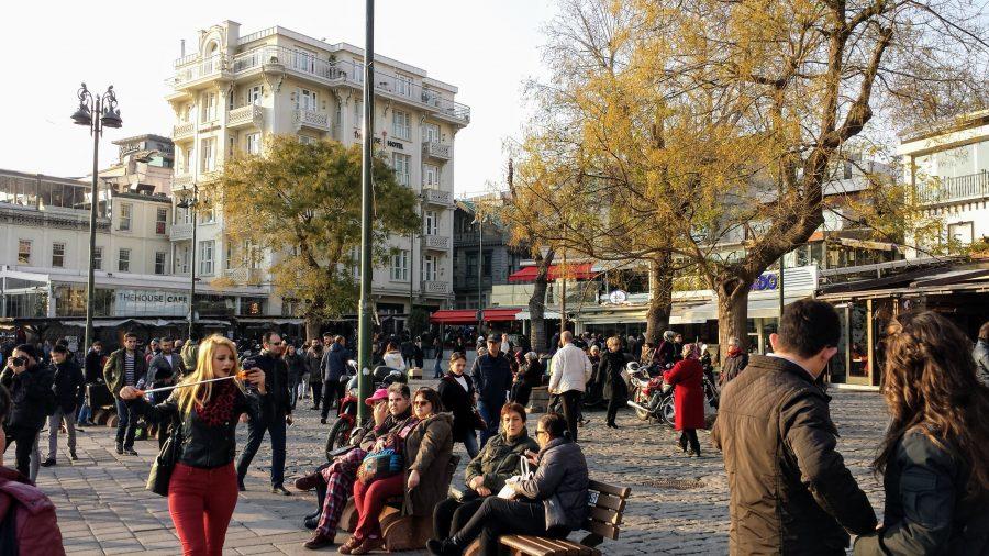 Ortaköy em Istambul