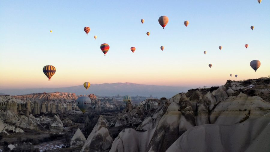 voo de balão capadócia, Turquia